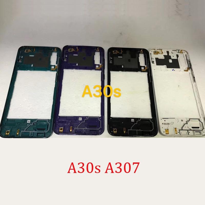 Nuevo marco central para Samsung Galaxy A30s, A307, A307F, A307FN, A307G, carcasa Original para teléfono, carcasa central con cubierta de botones