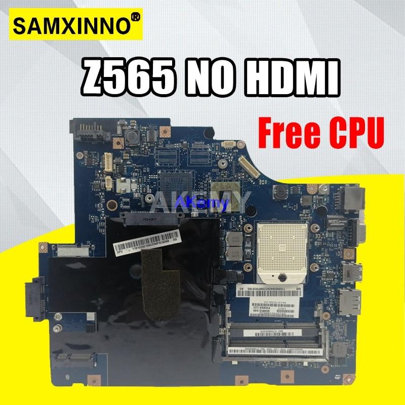 Placa base LA-5754P para Lenovo G565 Z565 placa base para ordenador portátil Z565 placa base de prueba