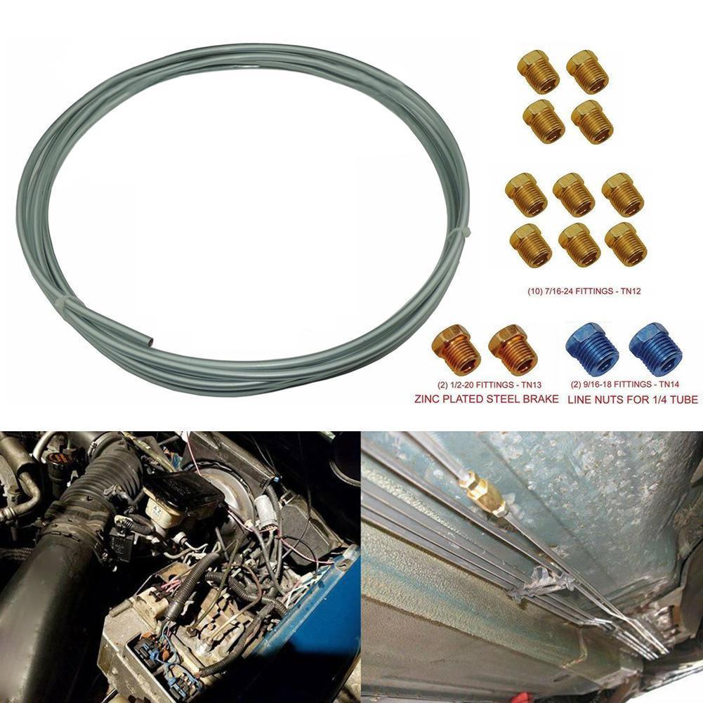 Tubo de tornillo para manguera de aceite de cilindro maestro de freno automático M10 * 1,25, tornillos universales M10 * 32*1,25, tornillos para motocicleta M10 * 22*1,25 Bo A7I4