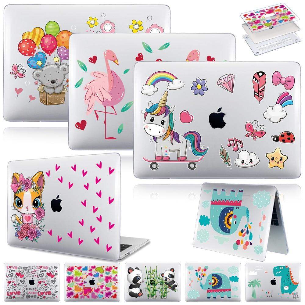 Cartoon Pattern Laptop Case for Apple Macbook Air 13