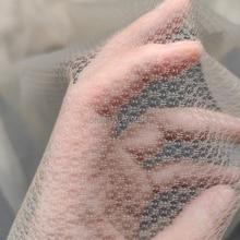 Diamond-net-materials flower skin net fabric for making toupee Wig-top-skin-net