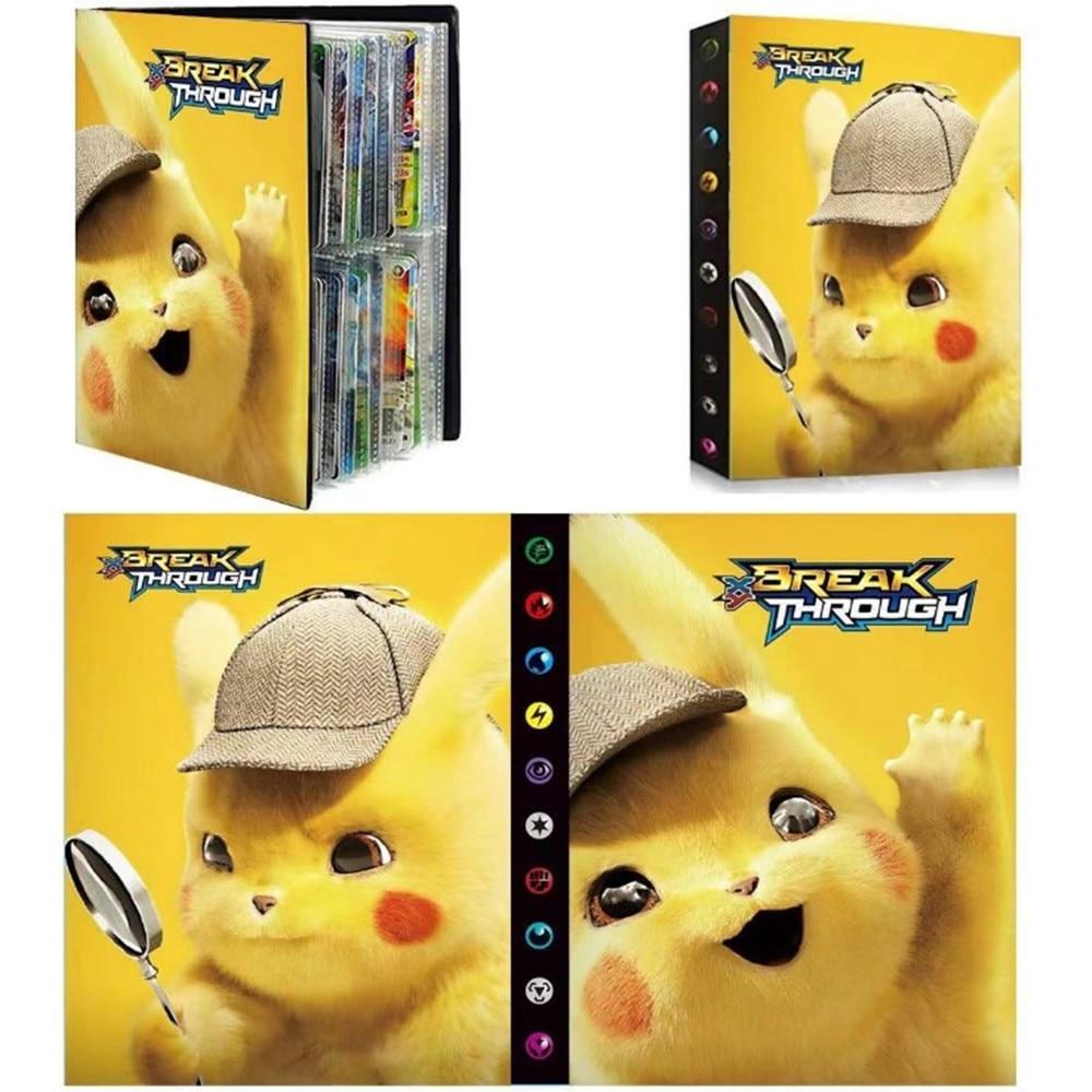 Альбом для покемонов, коллекция игрушек, альбом для покемонов, книга, Лидер продаж, список игрушек, подарок для детей, 240 шт.