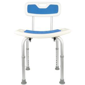 6/7/8 gears  Bathroom Chair Non-slip Adjustable Height Pregnant Woman Old Man Take a Bath Aluminum Alloy Stool Chairs Furniture