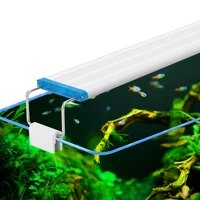 super slim leds aquarium lighting aquatic plant light 18 58cm extensible waterproof clip on lamp for fish tank