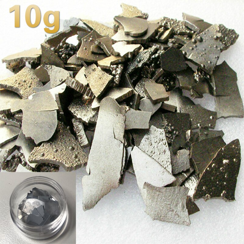 10g metal cobalt slices for Research and Development Laboratory Use Metal Elementary Substance Co Sheet 10g 99 9% vanadium metal in glas ampoule under argon pure element 23 sample