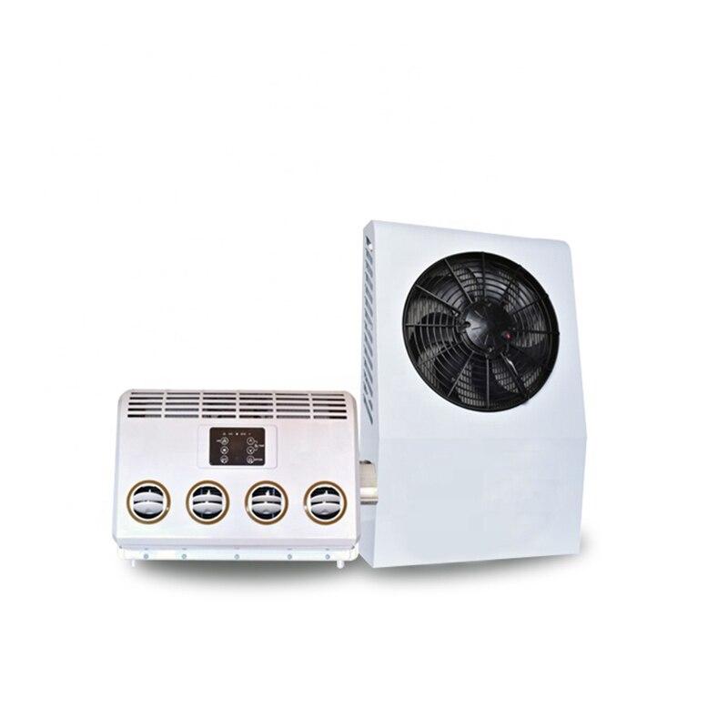Wfheater compressor 24v ac split ar condicionado do carro com controle remoto sem fio para rv, reboque motorhome, caminhões, barcos