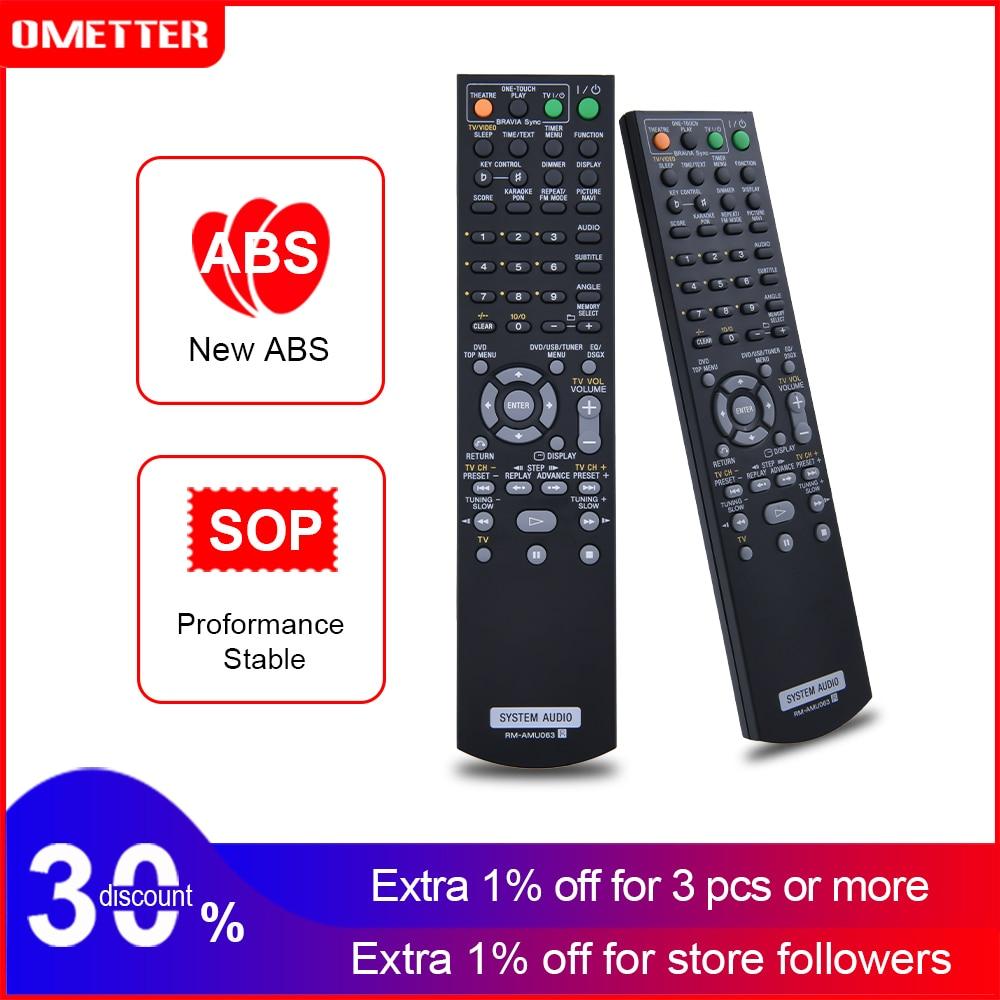 NEW RM-AMU063 RM-AMU064 For Sony Home Audio System Remote Control CMT-DH40R HCD-DH40R CMT-DH50R Fern