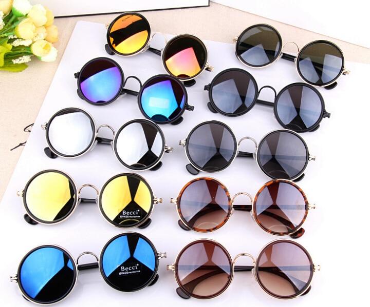 M42 Colorful Vintage Sunglasses Women Round Sun Glasses Coating Sunglass Shades Steampunk A De Sol Feminino Gafas