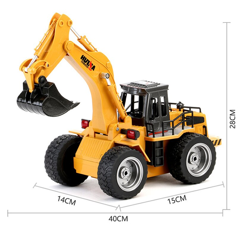 RC Car Construction Truck Excavator Toy 6 Remote Control Road Toys For Kids Electric Car Toys For Children Automotive Goods enlarge