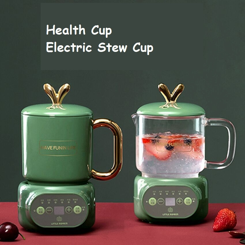 110V-240VHealth pot, ceramic health cup, electric stew household multi-functional automatic Mini Tea Pot
