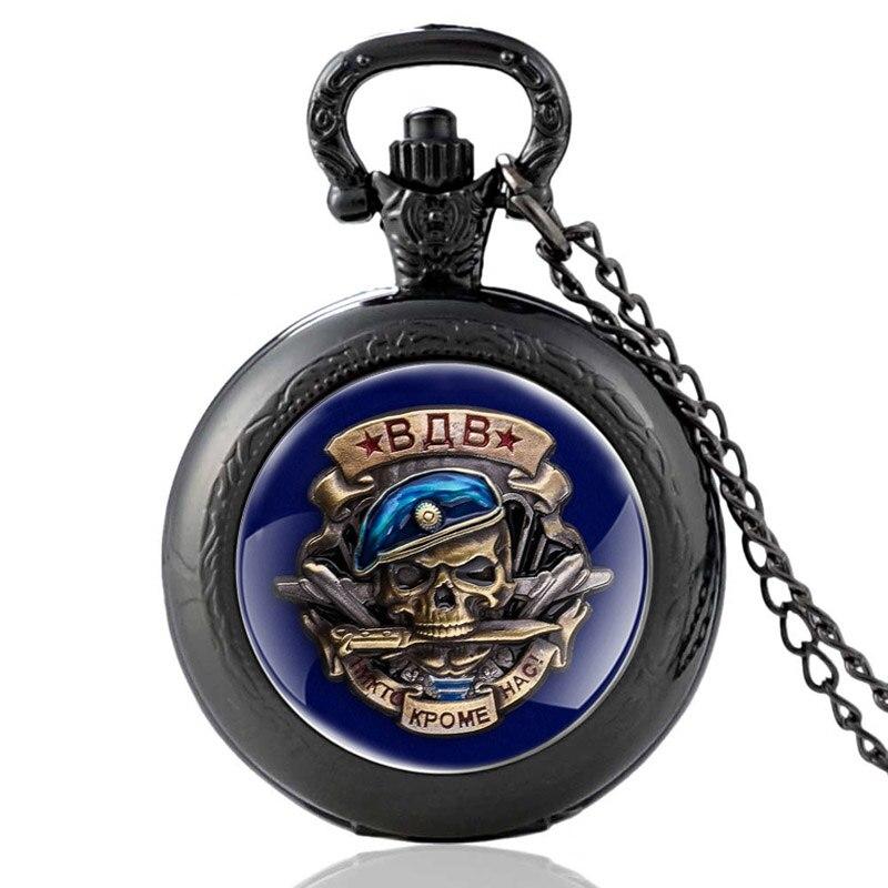 Русские ВДВ зду\ женские кварцевые карманные часы с подвеской в винтажном стиле для мужчин и женщин