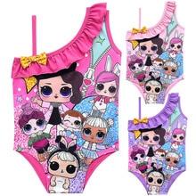 LOL original surprise poupées figure fille maillots de bain maillot de bain une pièce filles bain plage lol surprise poupées chiffres fête enfant