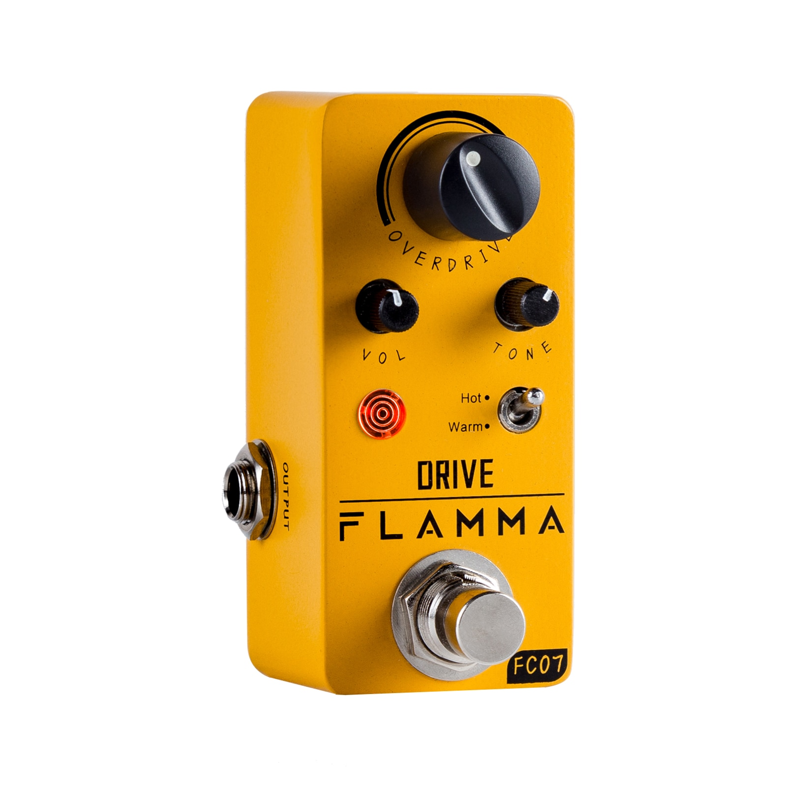 Педаль-для-электрогитары-flamma-fc07-overdrive-педаль-для-создания-эффектов-на-электрогитаре-с-теплым-режимом-с-блоком-питания