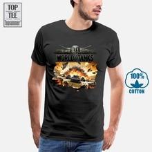 World Of Tanks t-shirt 100% coton tout neuf S L M Xl Xxl Wot drôle marque t-shirt Homme t-shirts