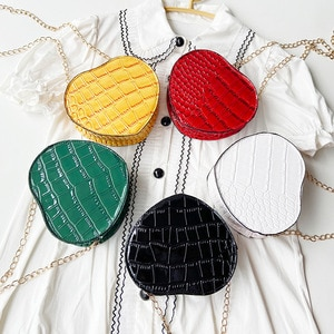 Luxury Brand handbags For Women Fashion Ladies Tote Evening Bag Make UP Shoulder Bags Designer Heart Shape Crossbody Bag