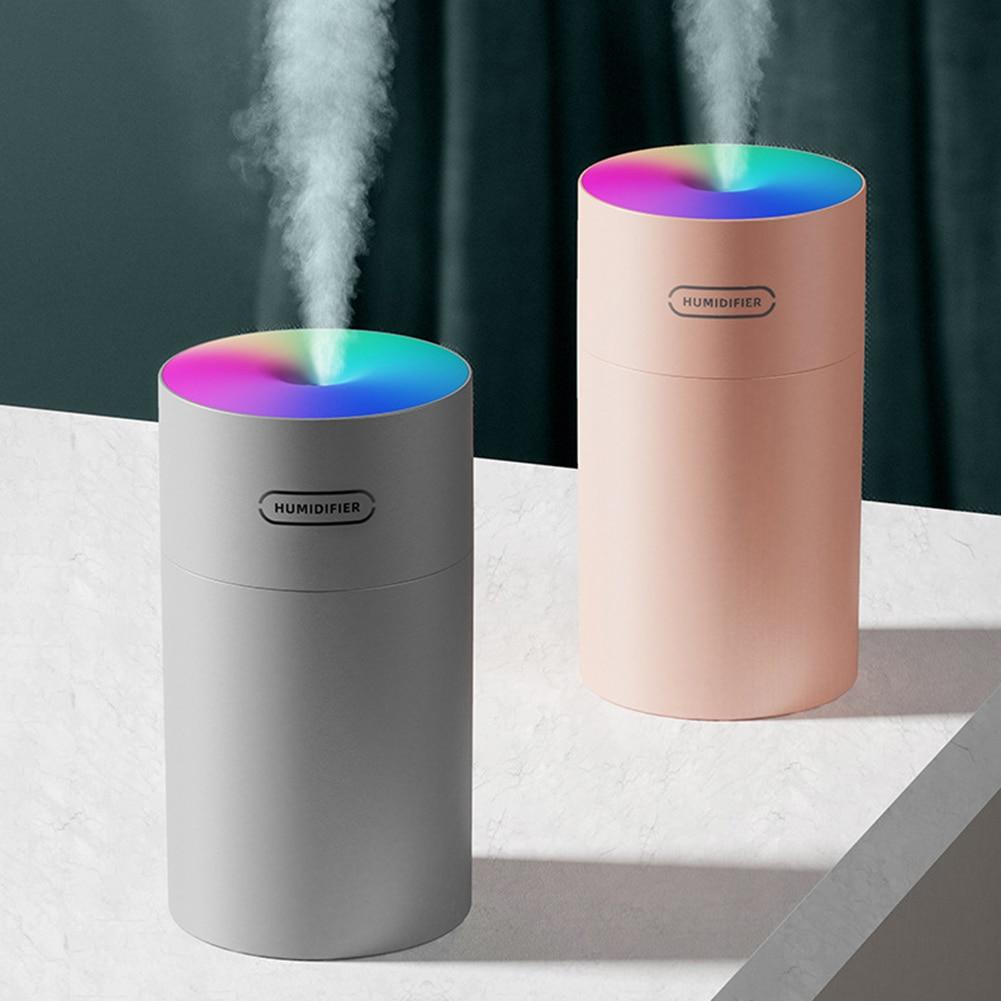 Air Humidifier Air Freshener Oil Diffuser Usb MINI 270ML Ultrasonic Romantic Light Mist Maker Purifi