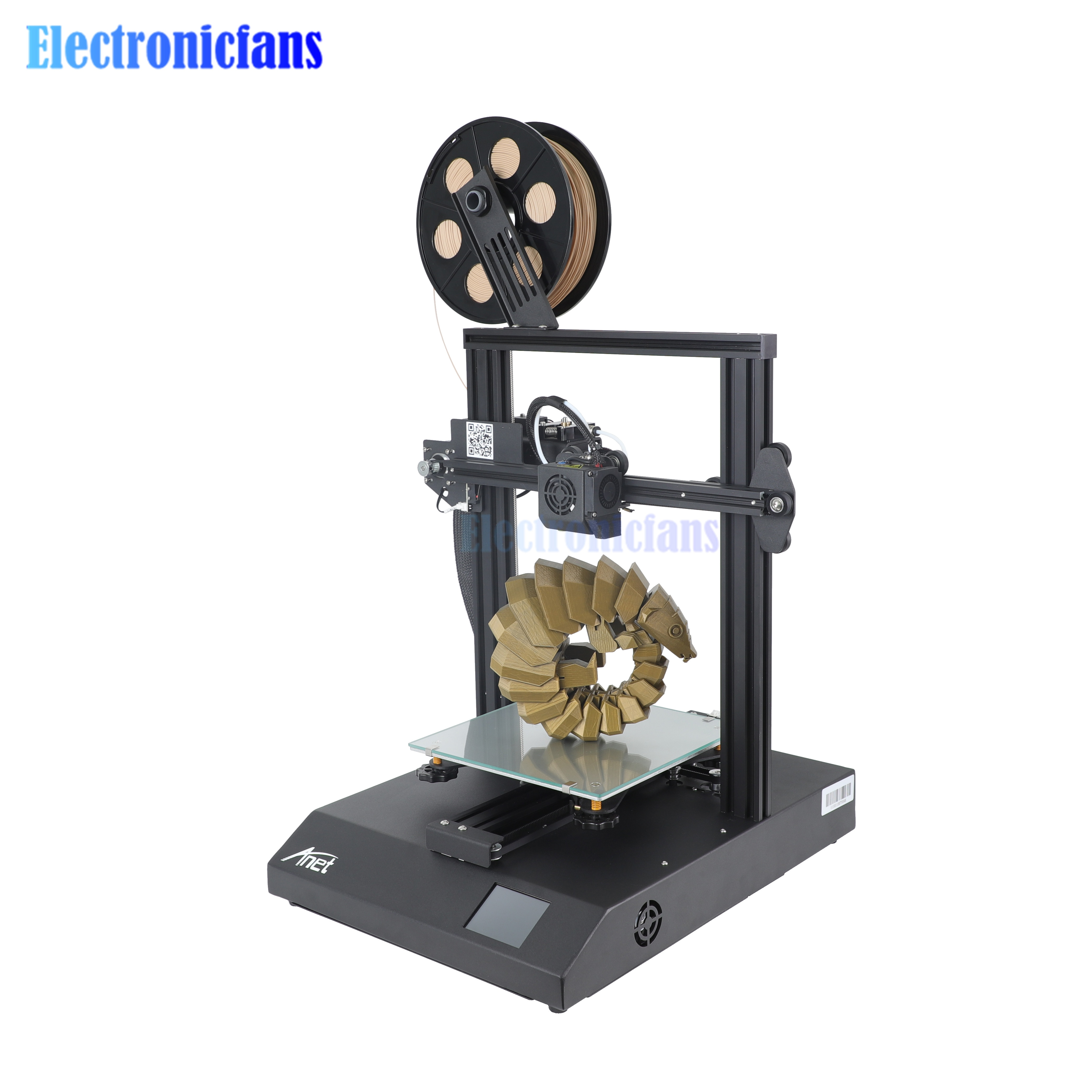 High Precision Anet ET4 Pro 3D Printer TMC2208 Support Resume Power Failure Printing 220*220*250mm Desktop 3d Printer DIY Kit