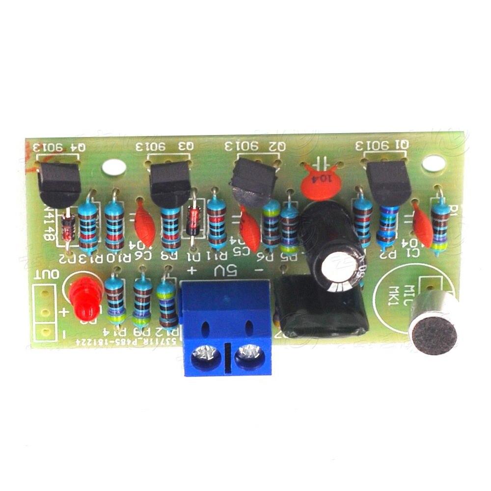 Sensor de sonido activado sensible a la luz electrónico Taidacent Clap Switches módulo Pcb Clap On Off Clap Switch a mano