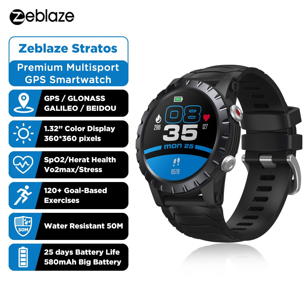 Smart Watches Men Sports SmartWatch GPS GLONASS GALILEO Beidou Tracker 50M Waterproof Wristwatch BLE 5.0 Relogio Masculino 2021