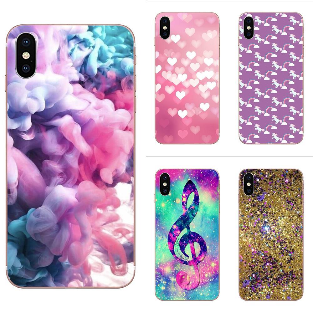 Bling brillante suave teléfono móvil transparente para Galaxy A01 A51 Galaxy A71 Galaxy S20 Galaxy S20 más S11 S11E S10 Plus