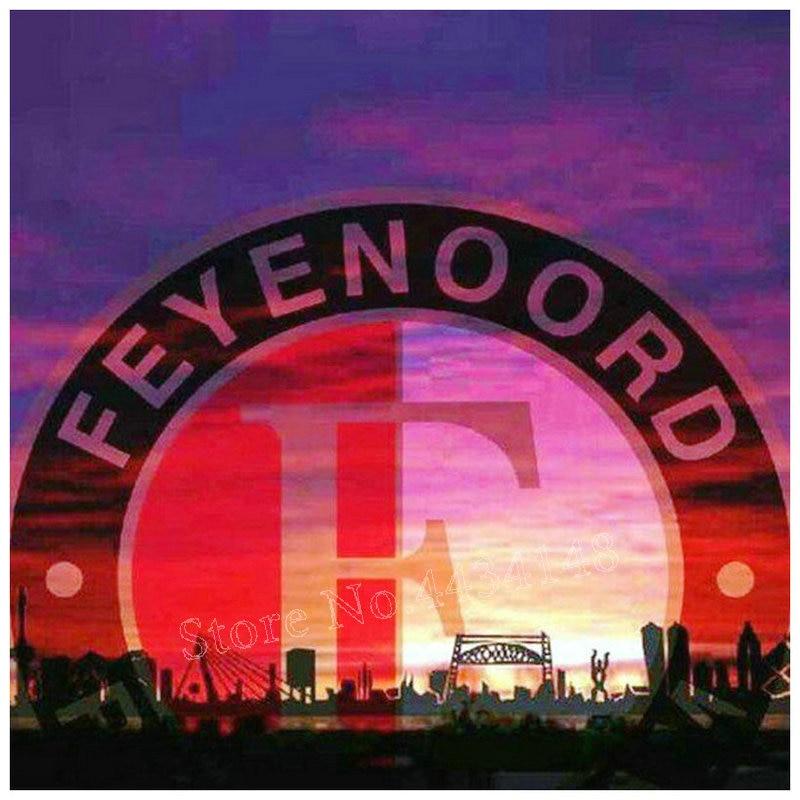 40x40cm diamond painting Feyenoord Amsterdam diamond art Dutch football icon full square diamond embroidery