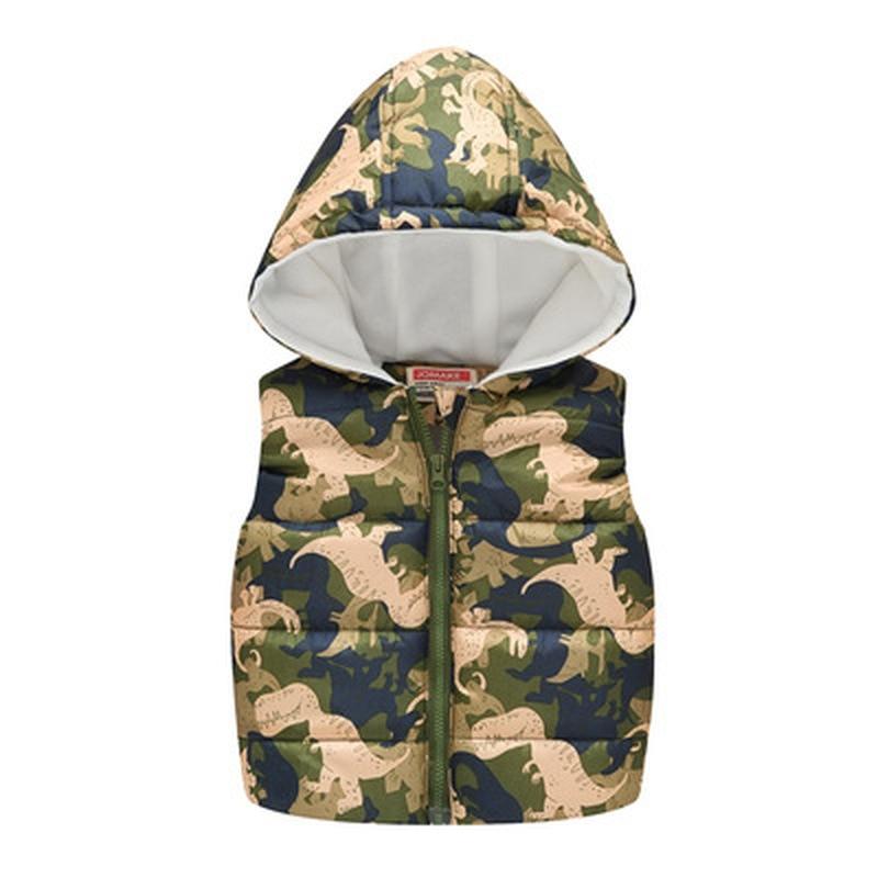 Kids Winter Vest Baby Waistcoats Boys Tops Light Down Girls Jacket Cute Clothing Children Warm Vest