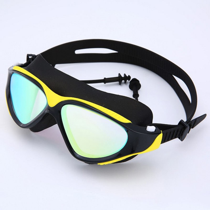 Professional Swimming Goggles Adult Waterproof UV Protection Anti Fog Adjustable Diving Glasses Swim Glasses  Outdoor Goggles outdoor swimming diving regulator bracket tool mounting pressure protable diving equiment hose hook breathing spare accessories