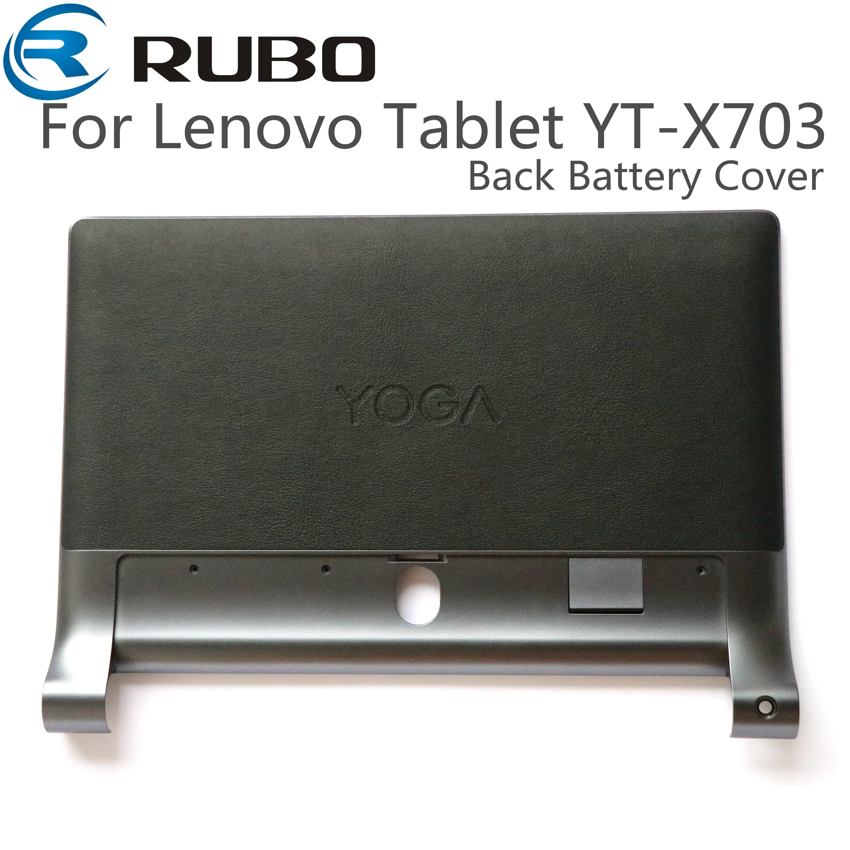 Para lenovo yoga tab 3 plus tablet YT-X703 volta caso habitação capa de bateria peças reparo para lenovo YT-X703 lcd quadro médio