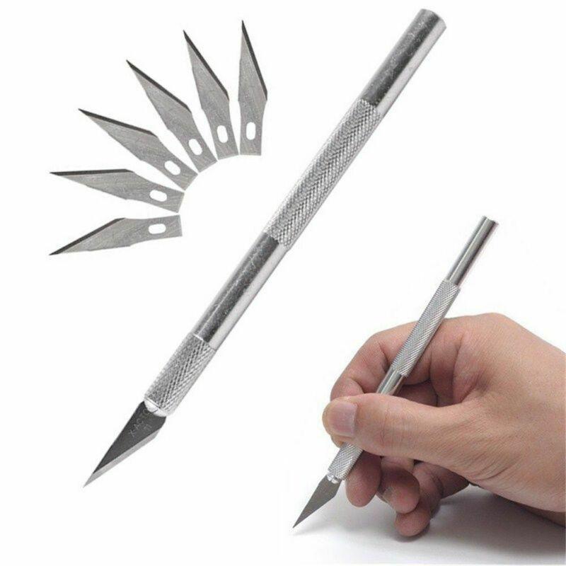 7X нож, трафареты, резак для скульптуры, резак для ремесла, резак по дереву, бритва для резки, острый нож для хобби