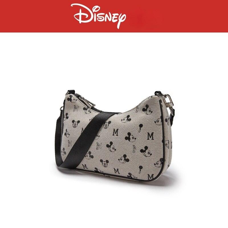Disney New Cartoon Mickey Lady Shoulder Bag Fashion Casual Large Capacity Storage Bag High Quality Luxury Lady Messenger Bag
