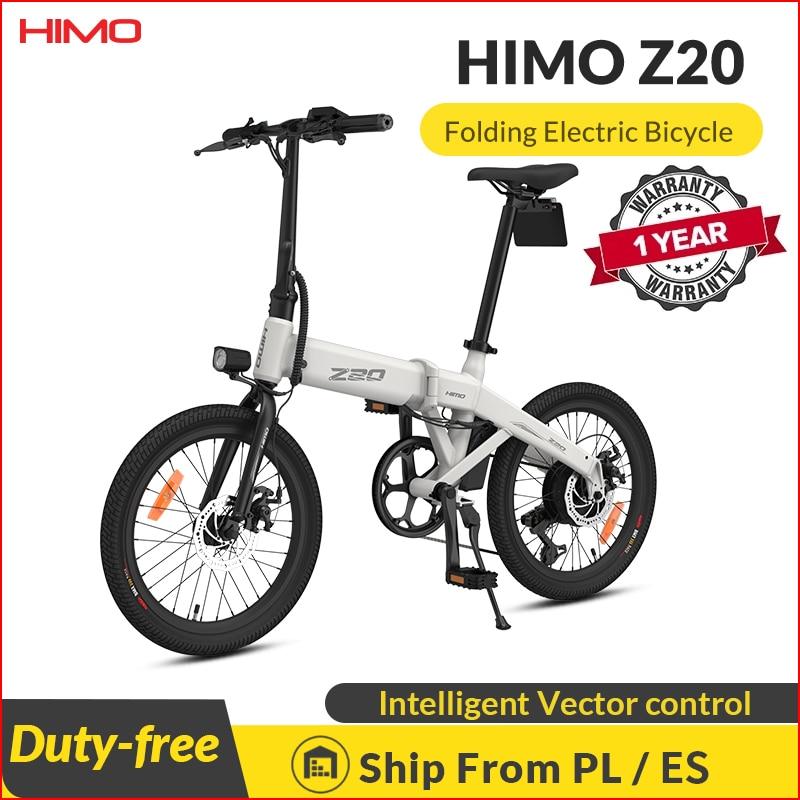 aliexpress.com - 【EU STOCK】HIMO Z20 Electric Bike Folding E-Bike 250W 10Ah Ultra-Dynamic Dual Mode Outdoor Urban Bicycle 80KM Mileage Beach ebike