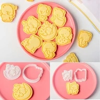 1pcs cartoon cute bear cookie cutters biscuit mold diy baking mould cake decorating tools free shipping