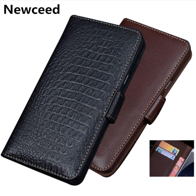 Etui portefeuille daffaires en cuir véritable pour Huawei Maimang 8/Huawei Maimang 7 sac de téléphone