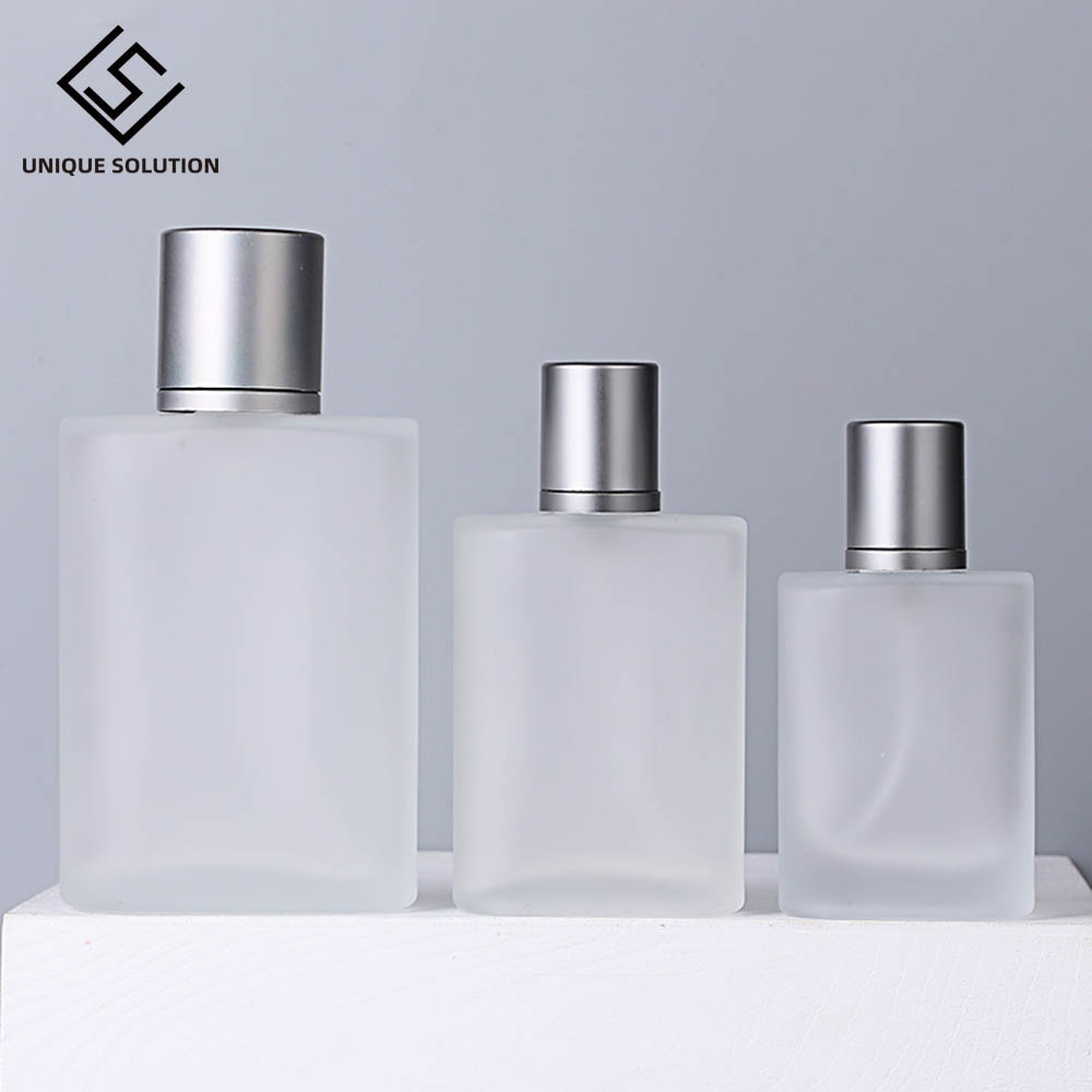30 مللي 50 مللي متجمد الزجاج رذاذ زجاجة عالية الجودة العطور الاستغناء زجاجة زجاجات رذاذ أدوات التجميل 30 مللي الضغط زجاجة فارغة 100 مللي