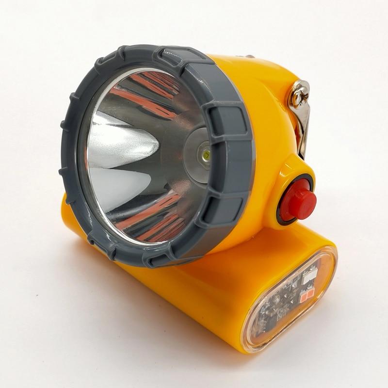 12 PCS/LOT  KL5LM New Wireless LED Mining Headlamp Miner Lamp With Strobe Light enlarge