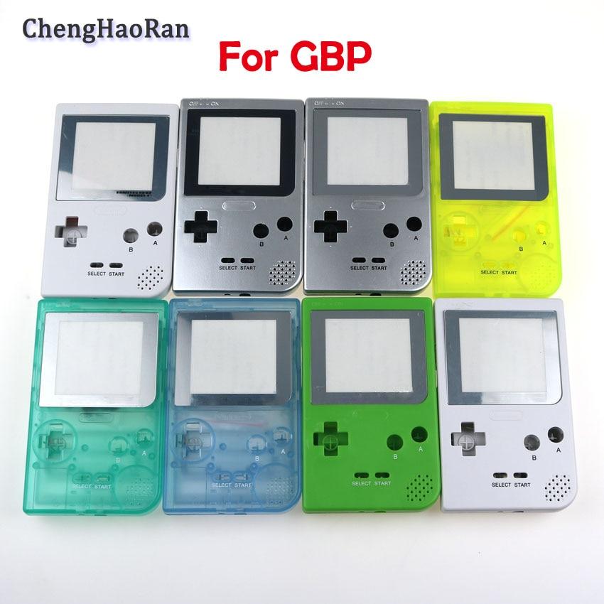 ChengHaoRan 1 Juego para Nintend GBP consola de juego de Gameboy de bolsillo de gbp color carcasa de la cubierta de la Caja Accesorios