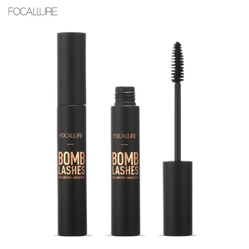 FOCALLURE 3D Black Mascara Volume Curling Makeup Waterproof Thick Lengthening Eyes Beauty Makeup Cosmetic Dropship