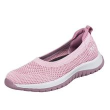 Women's sports shoes new spring and autumn mesh breathable casual shoes girls' light and non slip wa