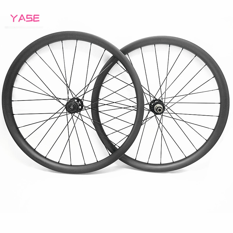 29er mtb conjunto de ruedas de bicicleta boost 110x15 148x12 45x25mm asimetría tubular D791/792SB ruedas de bicicleta de montaña de carbono juego de ruedas de bicicleta