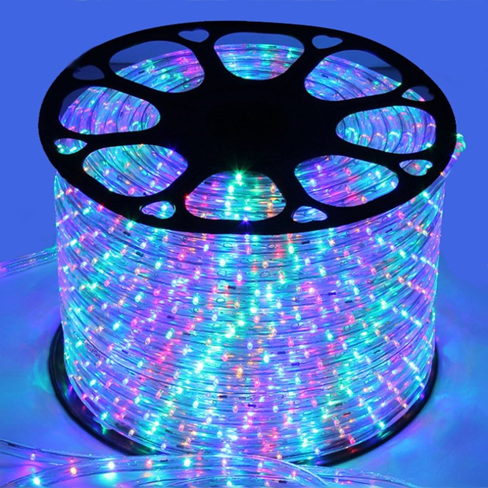 amagle usb battery powered flamingo neon lamp pink led strip wall hanging neon lights bedroom decoration marquee neon signs 220V Led Strip Light Rainbow Tube Waterproof Flexible Neon Lights for Christmas Outdoor Twinkel Lights Room Decoration Lamp