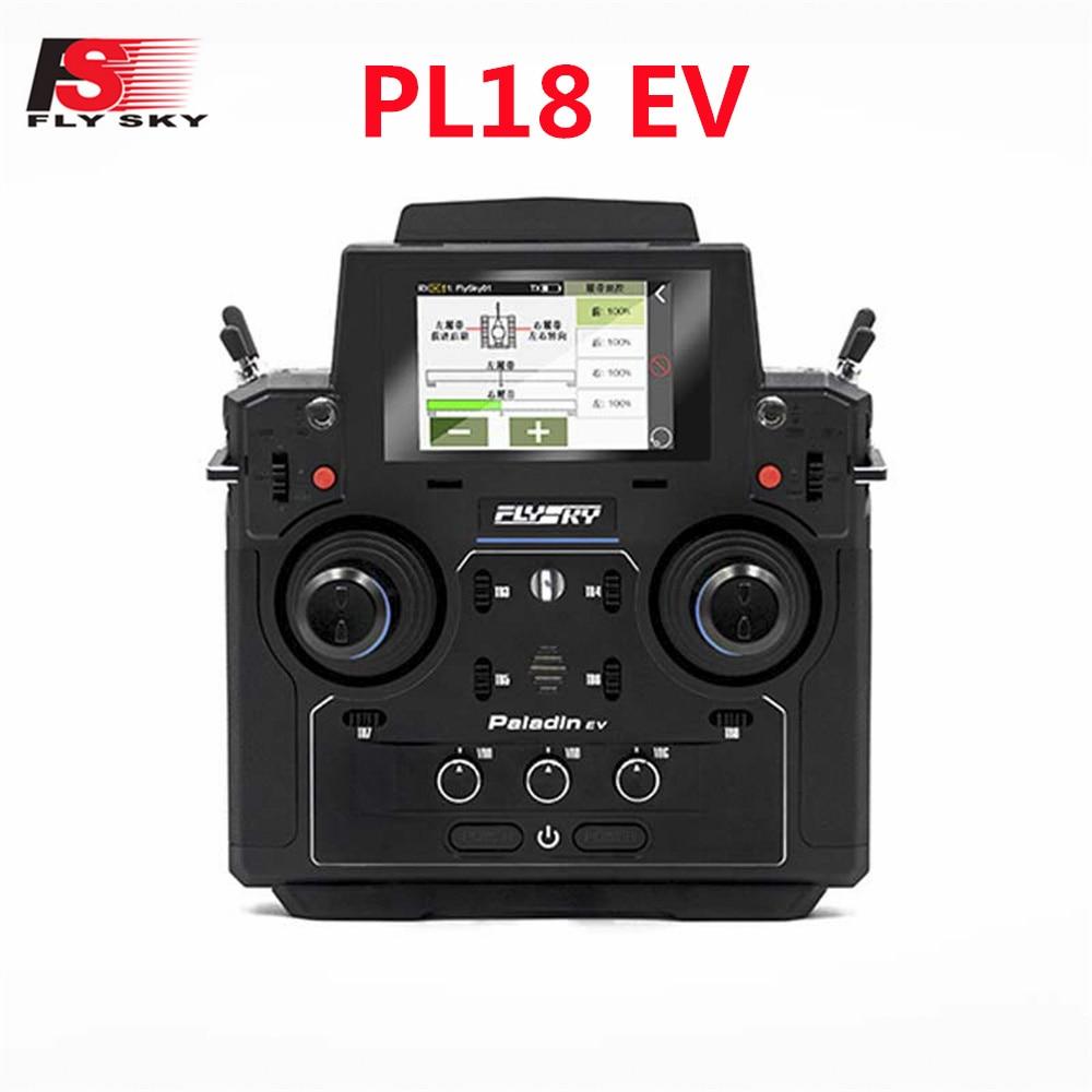 Flysky FS-PL18 EV 2.4G 18CH Radio Transmitter w/ FS-FGr12B RC Receiver HVGA 3.5 Inch TFT Touch Screen for FPV Racing Drone Parts