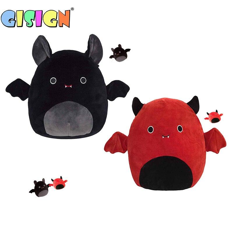 Плюшевая игрушка для Хеллоуина, летучая мышь, плюшевая игрушка с маленькими крыльями, милые мягкие плюшевые куклы для детей, девочек, мальчи...