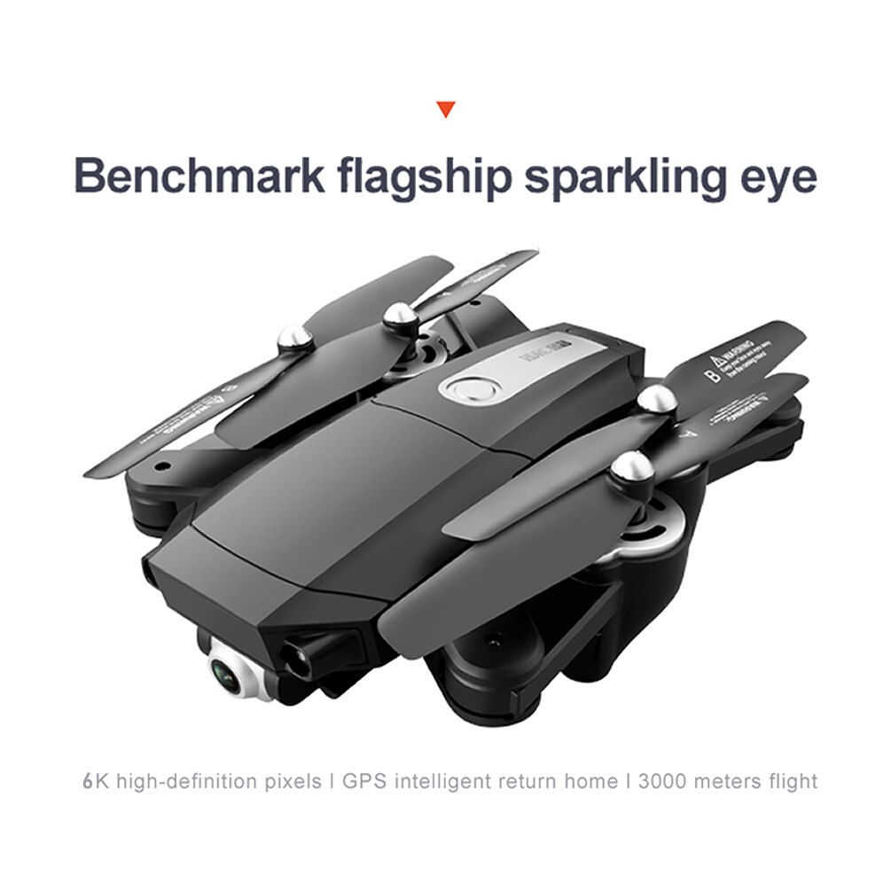 Professional Aerial Photography GPS RC Drone with 6K HD Dual Cameras Quadcopter UAV Remote Control Brushless Motor Aircraft enlarge
