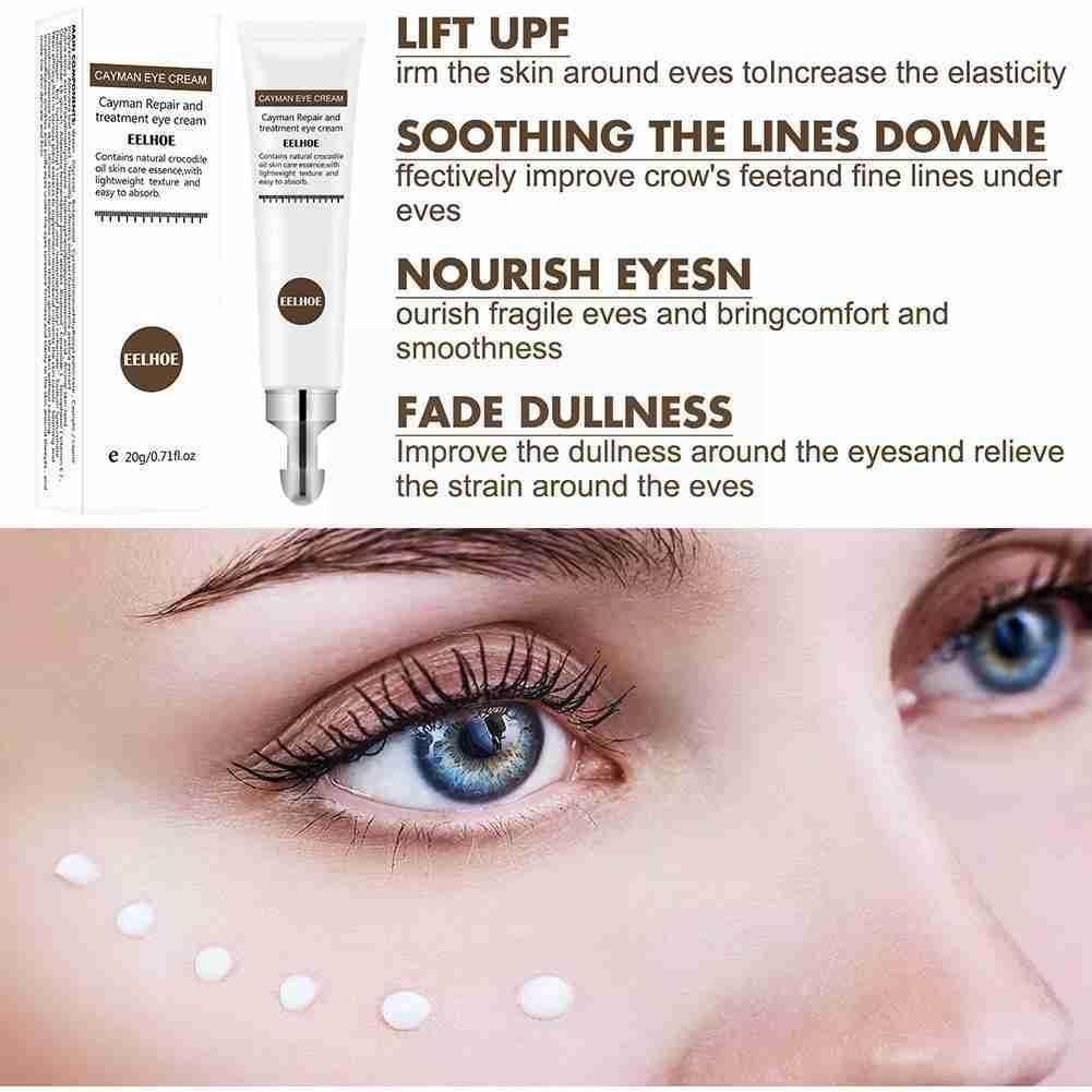 20g Eye Cream Peptide Collagen Serum Anti-Age Remove Dark Puffiness Care Cream And Hydrate Eye Circles Eye Bags Against B1Z4