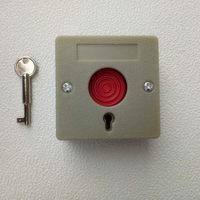 Plastic Key Reset Emergency Panic Button