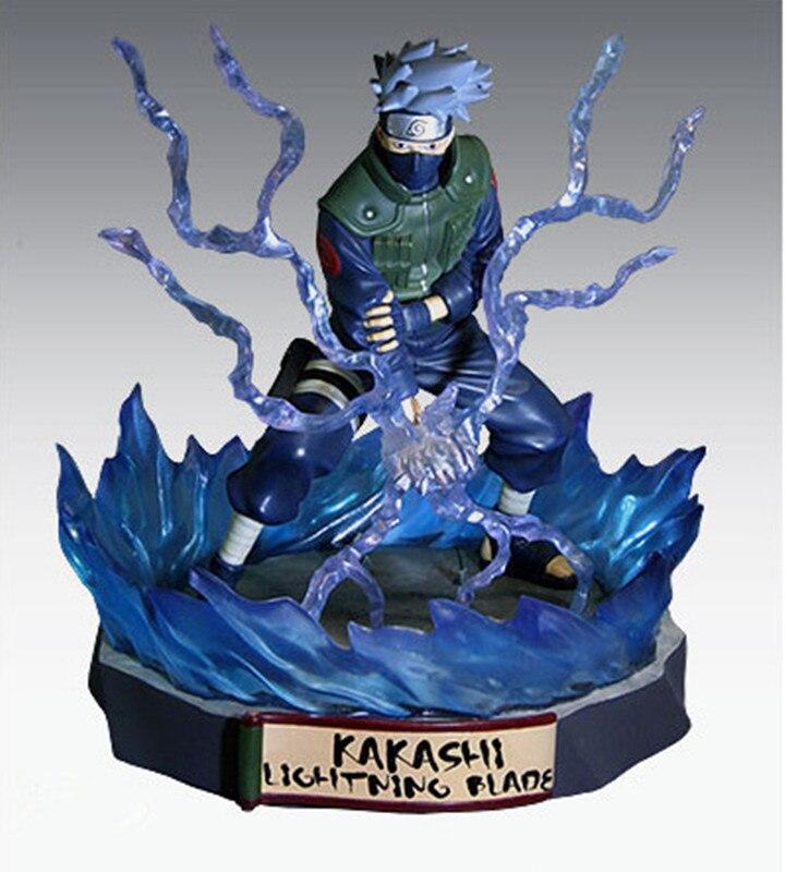 Figure Naruto Ninja Uzumaki Naruto Hatake Kakashi Lightning Blade Hokage Toynami Action Figure Toy Collection Model Gift