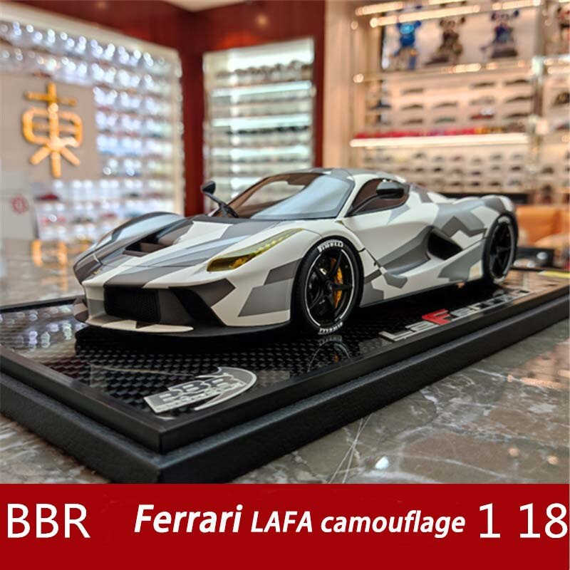 BBR 1:18 فيراري لافا التمويه طبعة محدودة نموذج سيارة محاكاة الراتنج نموذج سيارة الكبار هدية جمع الحرف