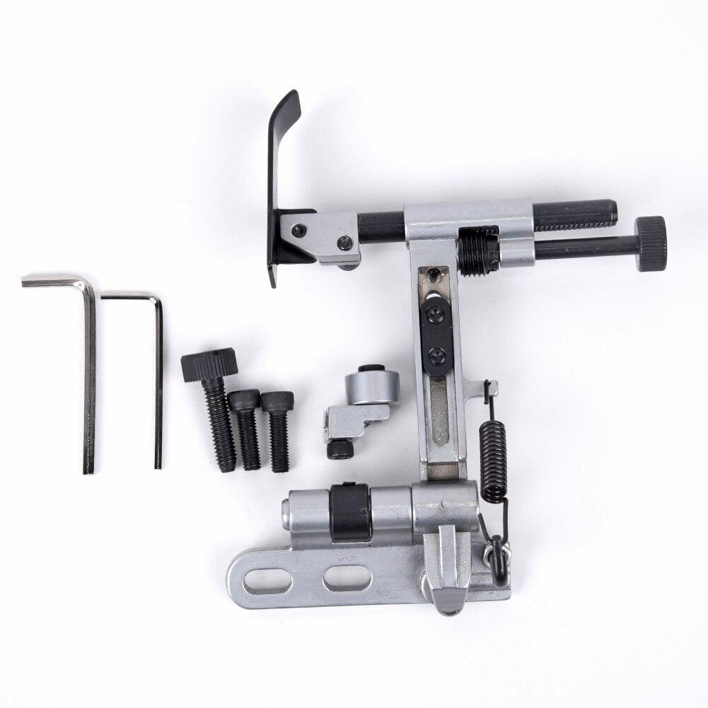 Máquina de costura kit de suspensão guia borda com suporte adaptador para pfaff 1245 335 quente para o irmão cantor janome toyota babylock