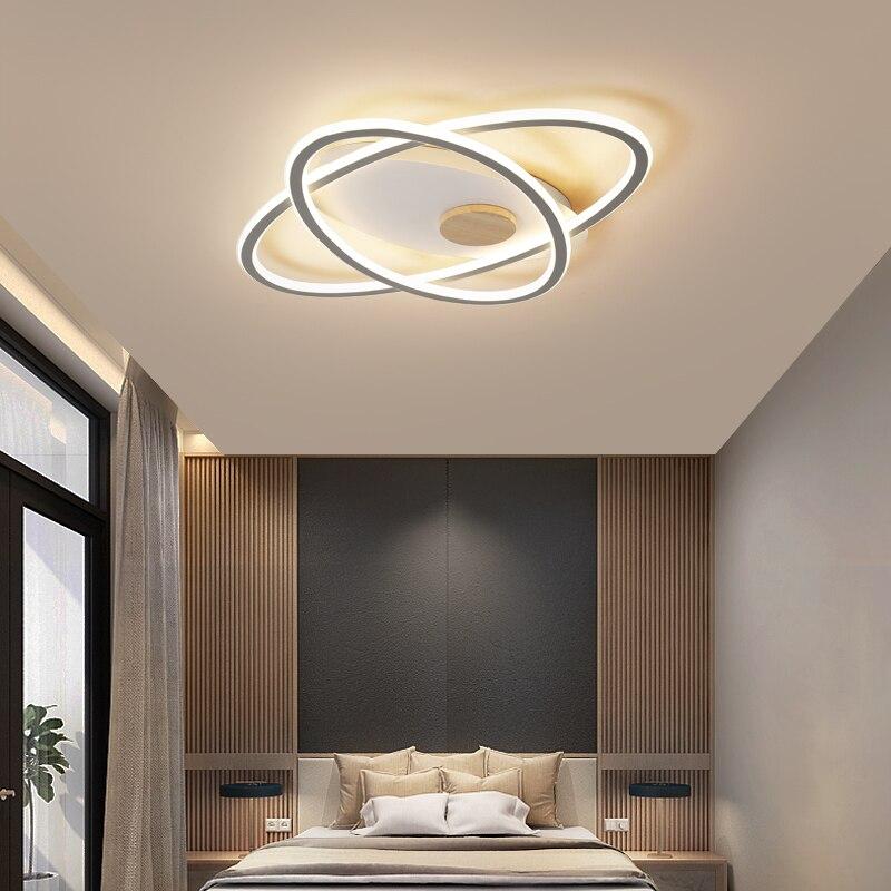 MDWELL, luz led de techo para el hogar, lámpara de aluminio para techo, sala de estar decorativa para luz de iluminación, dormitorio, estudio, plafón