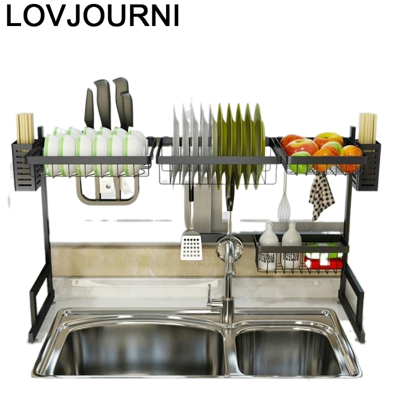 Keuken-حامل أرفف تخزين المطبخ ، منظم مطبخ من الفولاذ المقاوم للصدأ